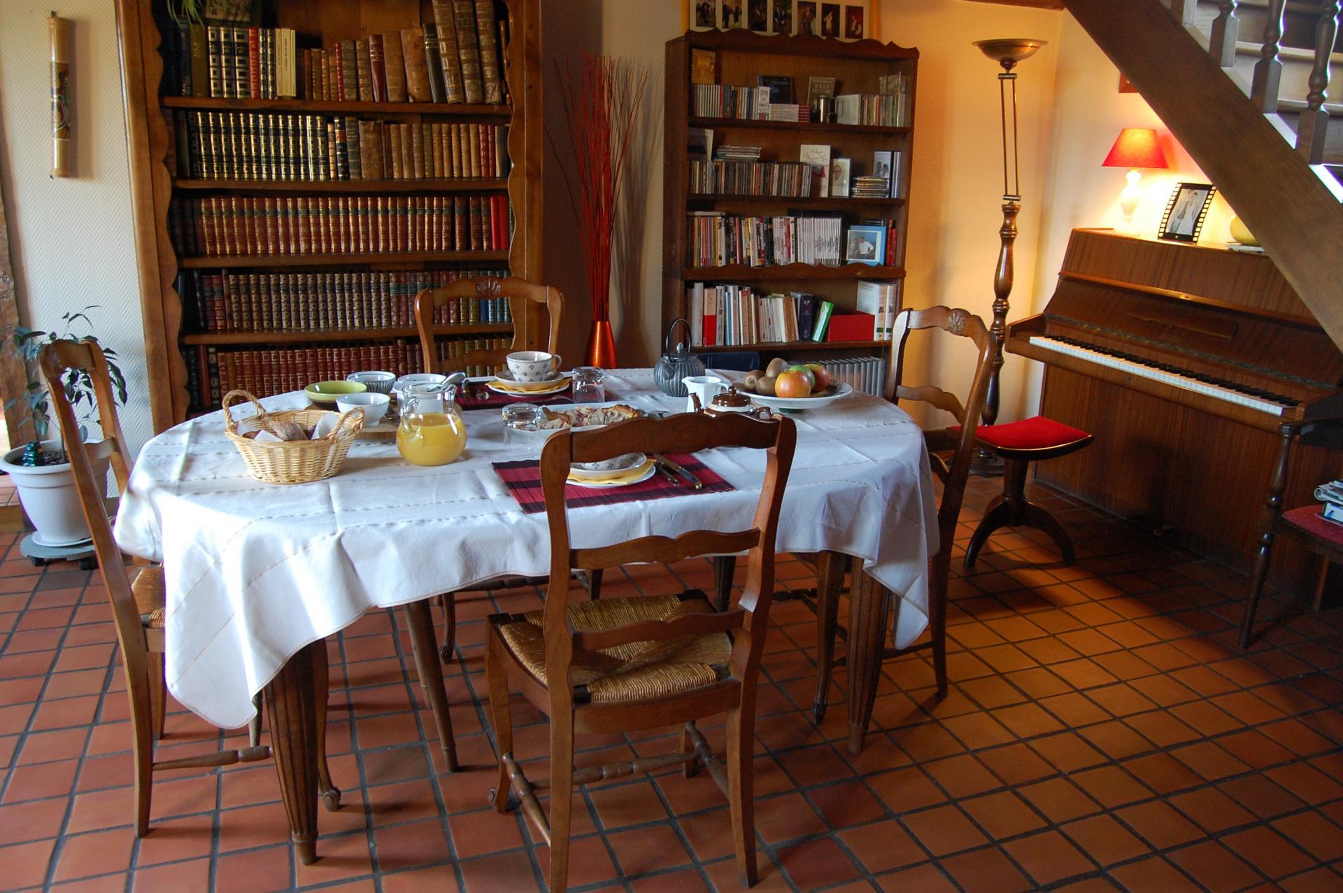La salle du petit dejeuner 1
